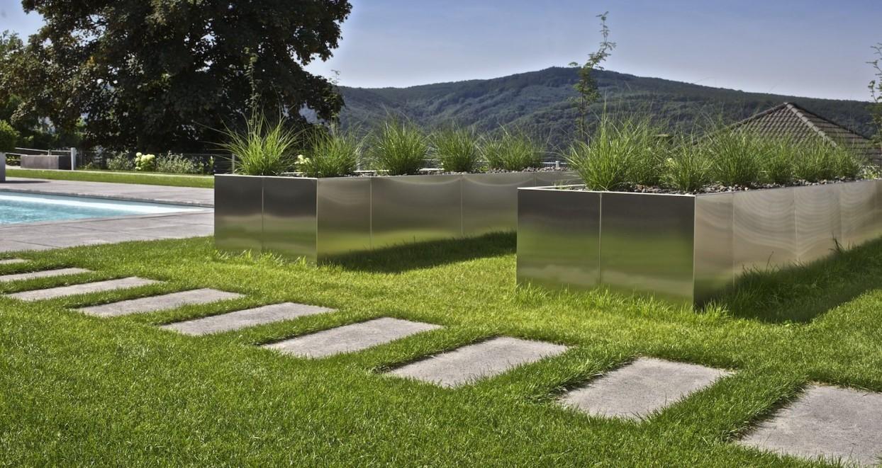 Exclusieve tuin met zwembad Duitsland (5)